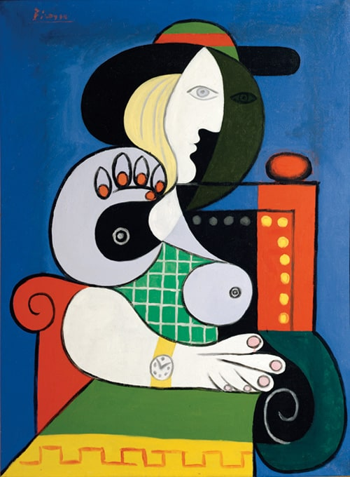 "Pablo Ruiz Picasso ""Woman with Watch"""
