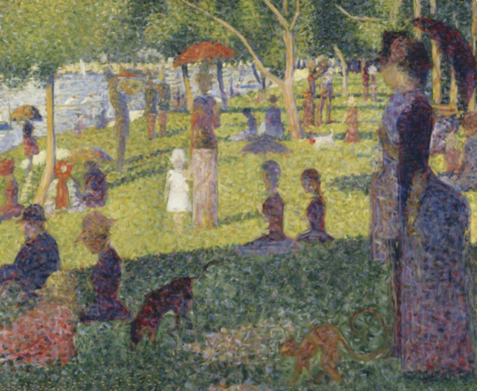 "Georges Seurat ""Bathers at Asniers"""