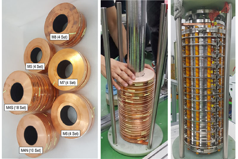 Design, construction, and operation of an 18 T 70 mm no-insulation (RE)Ba2Cu3O7−x magnet for an axion haloscope experiment